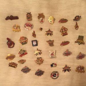 Cleveland Indians Pins